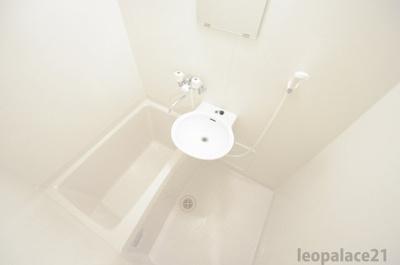 【浴室】レオパレスマーブル