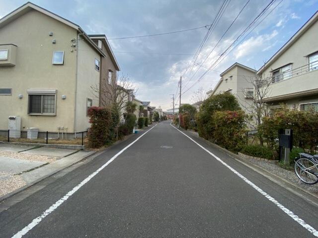 【前面道路含む現地写真】京王多摩川 中古戸建