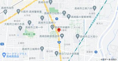 【地図】藤の里ハイツスギタ