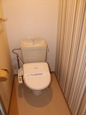 【トイレ】VILLA川辺Ⅰ