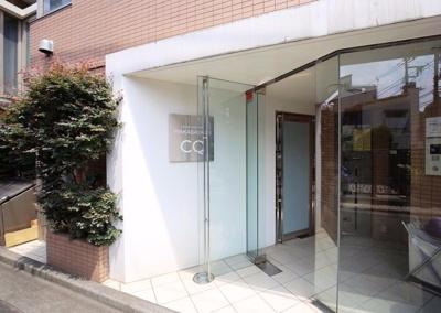 【エントランス】ラグジュアリーアパートメント若林CQ