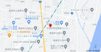 【地図】森本マンション