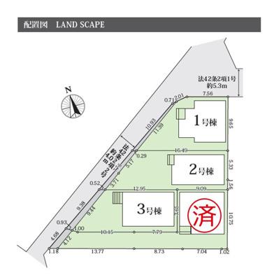 【区画図】GRAFARE 名古屋市鳥羽見