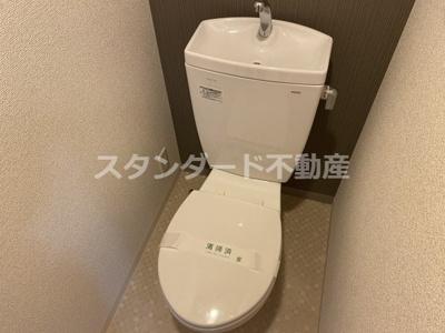 【トイレ】グランカリテ天神橋