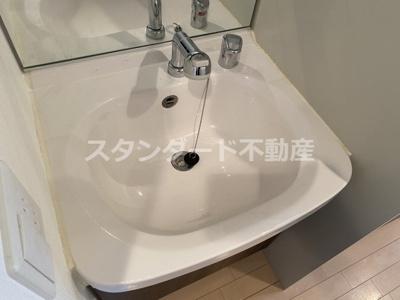 【洗面所】プレサンス天神橋ディオレ