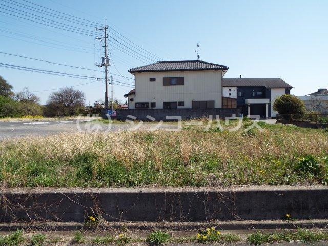 【前面道路含む現地写真】久喜市上内 土地