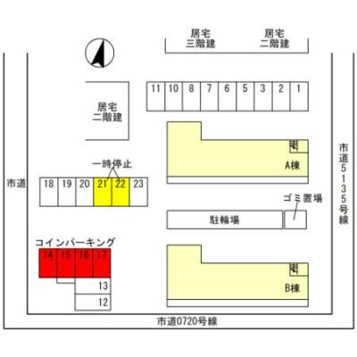【区画図】ラ カンパネラ A