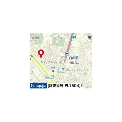 【地図】ハーモニーレジデンス文京白山