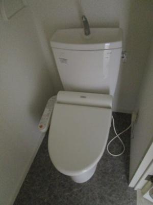 【トイレ】パラシオン市川大野