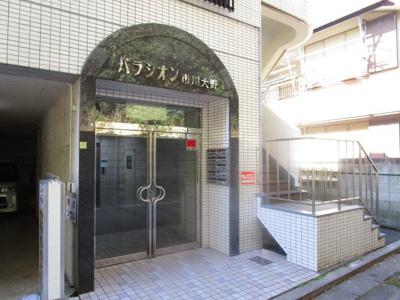 建物入口オートロック。