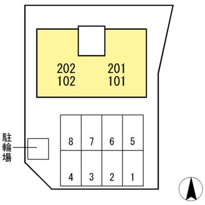 【区画図】プランドール(一宮西町)