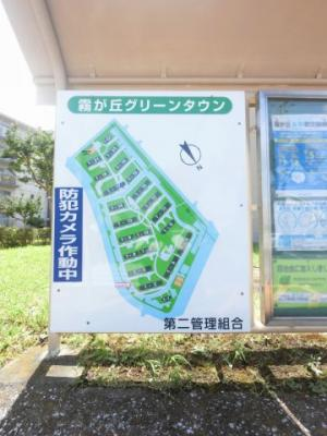 マンション内地図です。