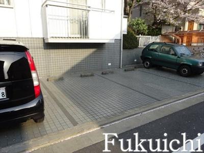 【駐車場】メゾン柿の木坂