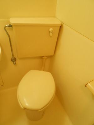 【トイレ】スカイコート白楽B号棟