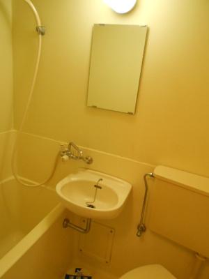 【浴室】スカイコート白楽B号棟