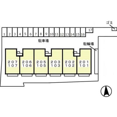 【区画図】インペリアルヒルズ