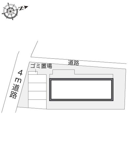 【区画図】レオパレス柴崎