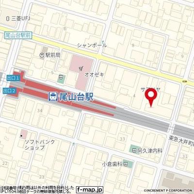 【地図】等々力ホームズ