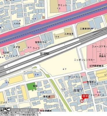 【地図】日神パレステージ笹塚
