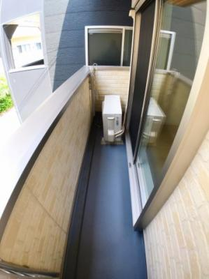 2階リビングのバルコニーの写真です♪