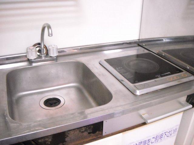 【キッチン】レオパレス西砂