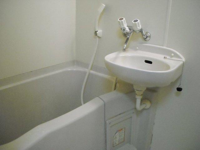 【浴室】レオパレス西砂