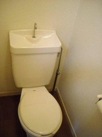 【トイレ】レオパレス西砂