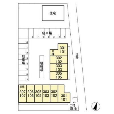 【区画図】グランドソレーユBABA Ⅲ