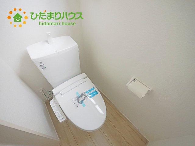 1.2階トイレ完備