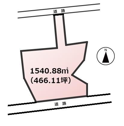 【土地図】宗像市田野土地