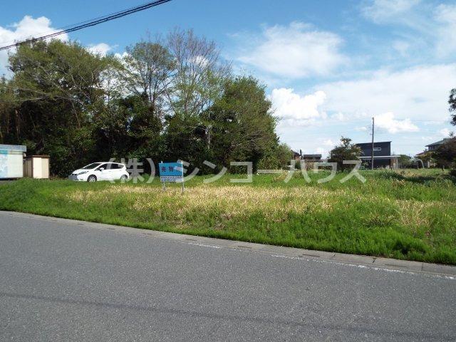 【前面道路含む現地写真】加須市戸室 売地
