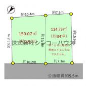 加須市戸室 売地の画像