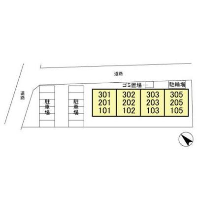 【区画図】ガーデンハイツ高柳