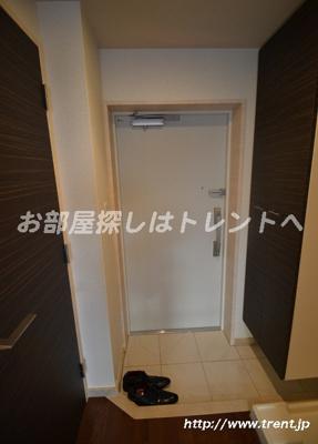【玄関】ルリオン初台