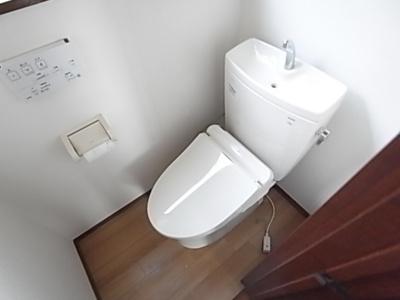 【トイレ】タマナ仁戸名戸建貸家