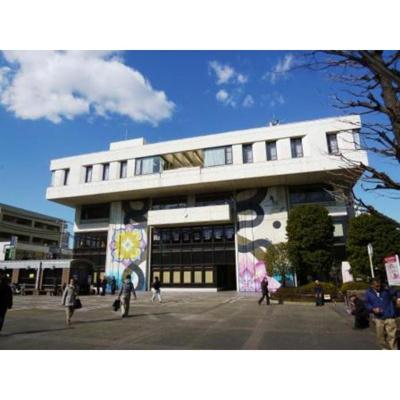 図書館「世田谷区立烏山図書館まで1781m」