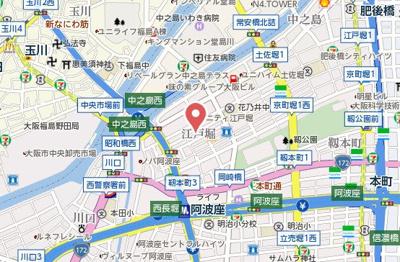 【地図】ブライトエビス
