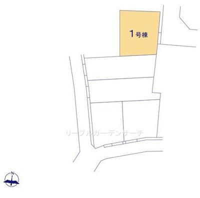 【区画図】リーブルガーデンS長浜市第4新庄寺町
