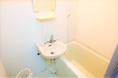 【浴室】クールドゥソレーユ福生
