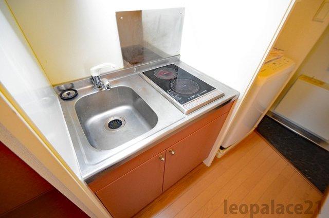 【キッチン】レオパレスプリマヴェーラ