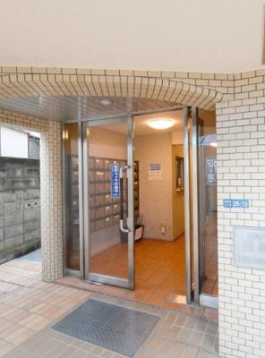 【エントランス】日神パレス西新宿