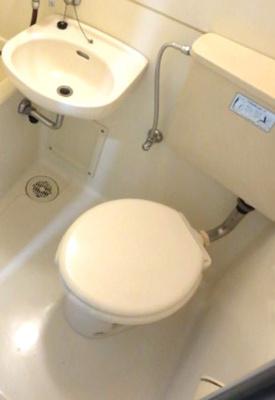 【トイレ】日神パレス西新宿