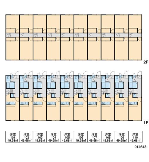 【区画図】レオパレスブラウンブレッド