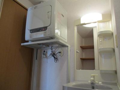 室内洗濯機置き場あり♪