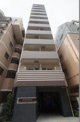 JR川崎駅徒歩10分の分譲賃貸マンションです。