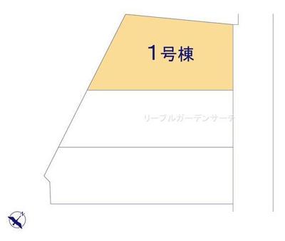 【区画図】リーブルガーデンS寝屋川市東大利町