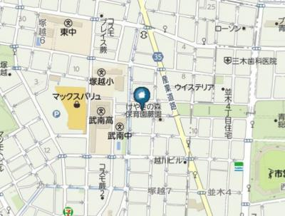 【地図】メゾン・レーヴ