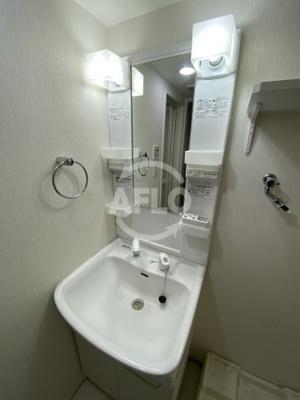 エルヴェ東天満 独立洗面化粧台