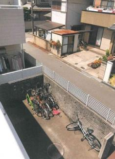 【駐輪場】和歌山市島橋北ノ丁一棟アパート