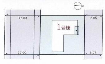 【区画図】リーブルガーデンS北葛城郡河合町久美ヶ丘2期